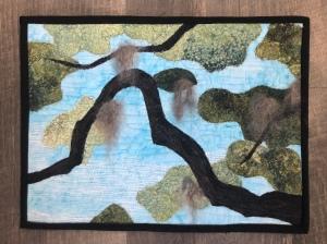Live oak limb